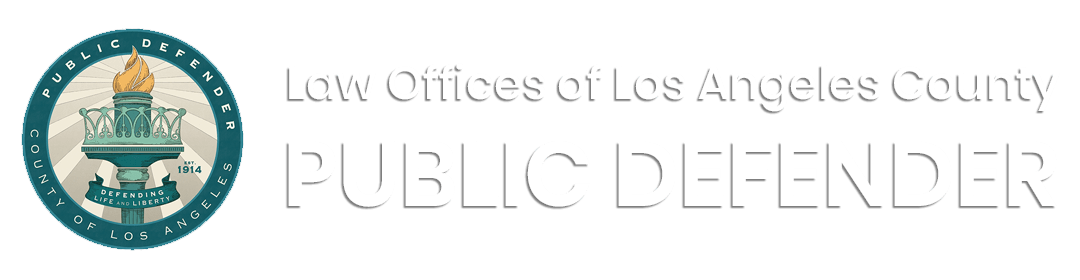 County of Los Angeles - Law Office of the Public Defender ...